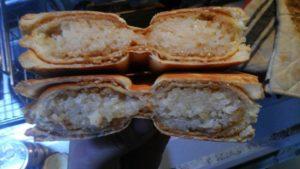ホットサンドの研究〜おにぎりパン〜